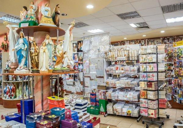 arka o firmie wnętrze sklepu
